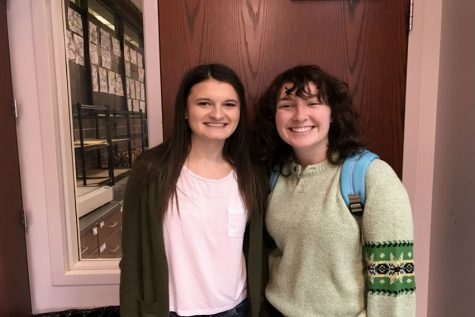 January Kiwanis of the Month: Marissa Meadowcroft and Elizabeth DenHerder
