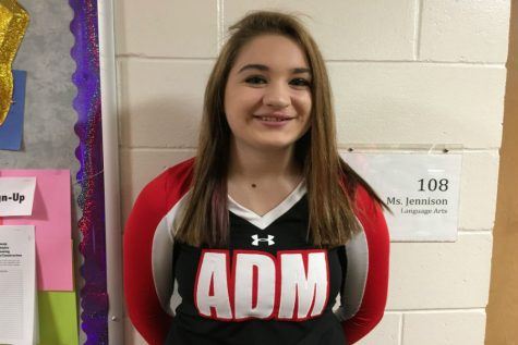 January Wrestling Cheer Student of the Month: Mattie DeVore
