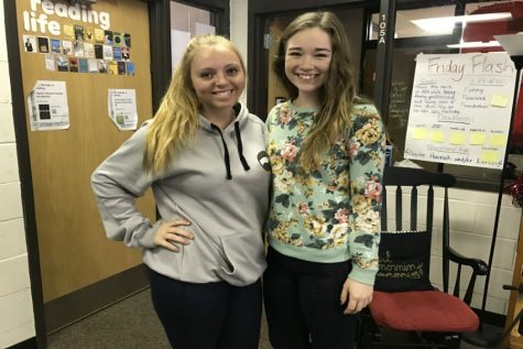 February Kiwanis Students of the Month: Emma Lonneman and Hannah Borst