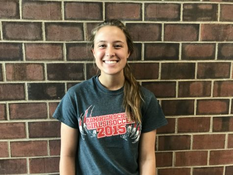 May Girl's Soccer Player of the Month: Isabel LaFollette