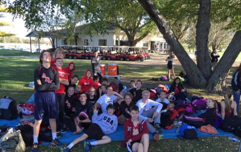 Even when not all wearing their uniforms, our cross country runners are clearly a close team!
