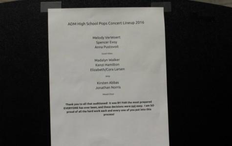 Pops Concert Lineup 2016