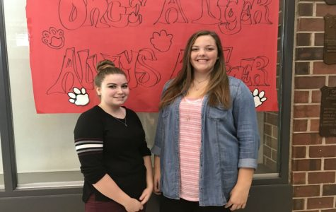 November Fine Arts Student of the Month: Spencer Evoy and Katelyn McGee