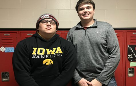 December Kiwanis of the Month: Mason Warmuth and Andrew Harada