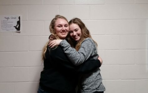 March Fine Arts Students of the Month: Hannah Borst and Alaina Taylor