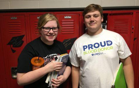 May Kiwanis Students of the Month: Carson Benn and Rebekah Blanchard
