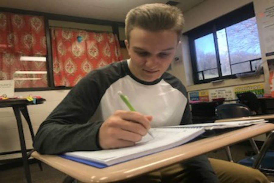 Gage Fuller is an active participant in many activities throughout school. When balancing everything he says,