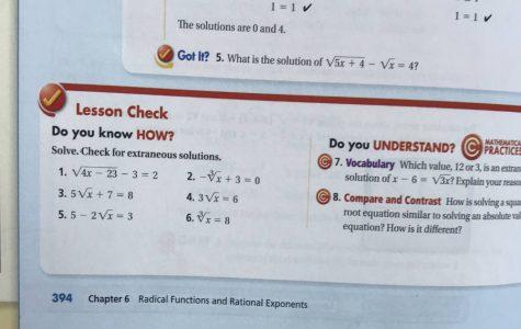 Advice Column- How do I Raise my Algebra 2 Grade?
