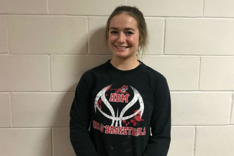 Abby Hlas- February Girls Basketball Athlete of the Month