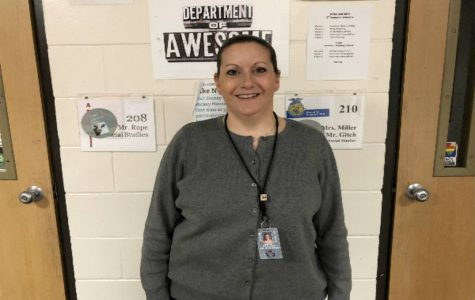 Ms. Gilliland- April Teacher of the Month