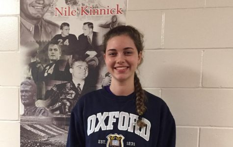 October Kiwanis Student of the Month: Rachel Hardy