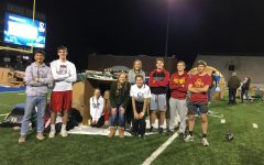Reggie's Sleepout in the Drake Stadium