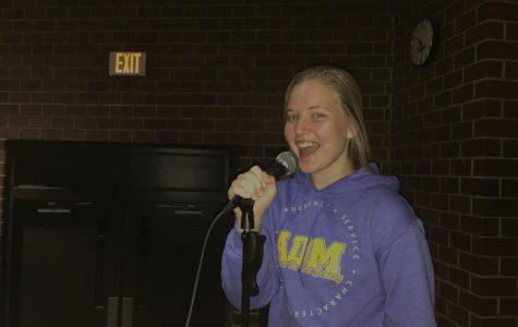 December Fine Arts Student of the Month: Anna Walls