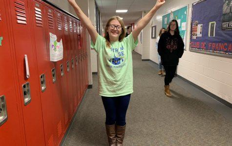 January Basketball Cheerleader of the Month: Christina Chapman