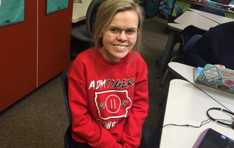 February Fine Arts Student of the Month: Kennedy Ihrig