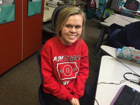 December Fine Arts Student of the Month: Grace Hatchitt