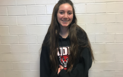 February Wrestling Cheerleader  of the Month: Kaisha Christianson