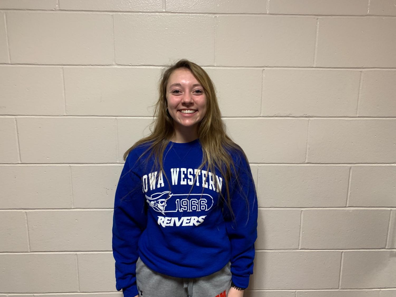 Emily Hatchitt, Kiwanis Student of the Month.