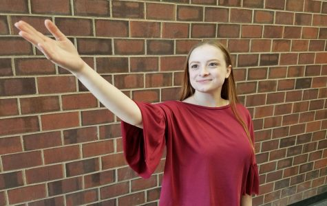 April Fine Arts Student of the Month: Kimberly Hall