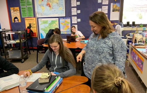 April Teacher of the Month: Lori Rezek.