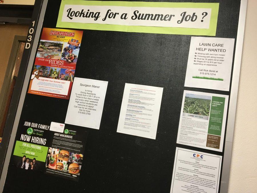 Summer Jobs Black Red Gister