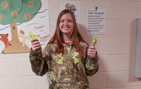May Fine Arts Student of the Month: Tanna Carmichael