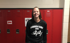 October Girls Cross Country Player of the Month: Holland Zwank