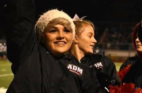 December Basketball Cheerleader of the Month: Mindy Deitrick
