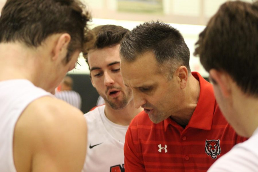 There was high pressure on the court as the Boys Varsity Basketball team turns a 20 point game into a 2 point game. ¨I think everyone in the gym was excited. I could feel the energy.¨ Said Coach Aaron Mager in regards to the last few seconds of the game.