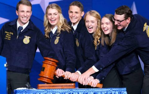The 2019-2020 National FFA Officer Team, a prime example of leadership at work in the FFA
