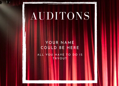 By using the tips that are suggested by Sean Whiston, Averi Brady, Jakob Zwank, Sarena Gibson, and I you could be a part of the next ADM theater cast.