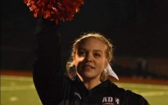 February Wrestling Cheerleader of the Month: Carley Button