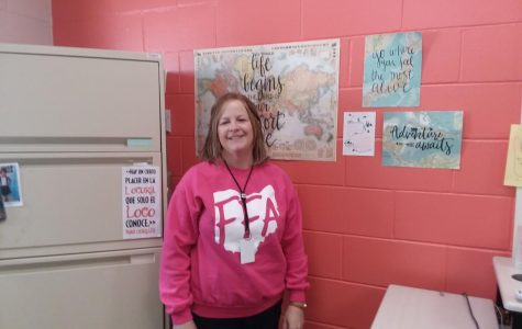 Mrs. Baier has taught Spanish at ADM for 16 years, she also supports FFA.