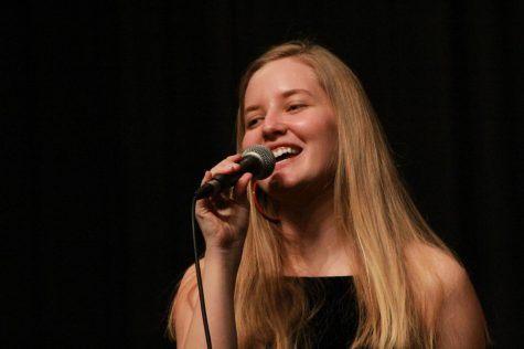 "April Kiwanis Student of the Month, Anna Walls, Performing in the ""Pops Concert"" February 2020"