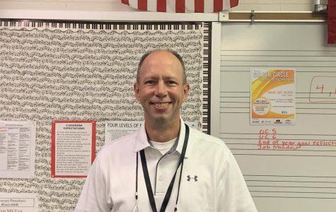 Mr. Braun, one of September's Teachers of the Month