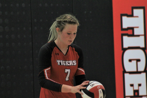 Volleyball Player of the Month Campbell James