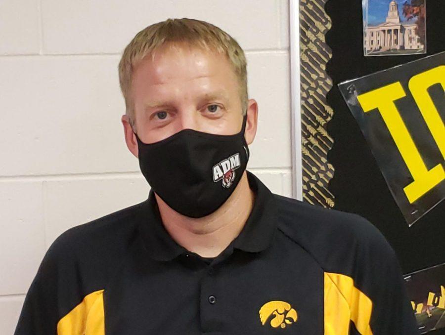 Corey Schnieder is Octobers Teacher of the Month.