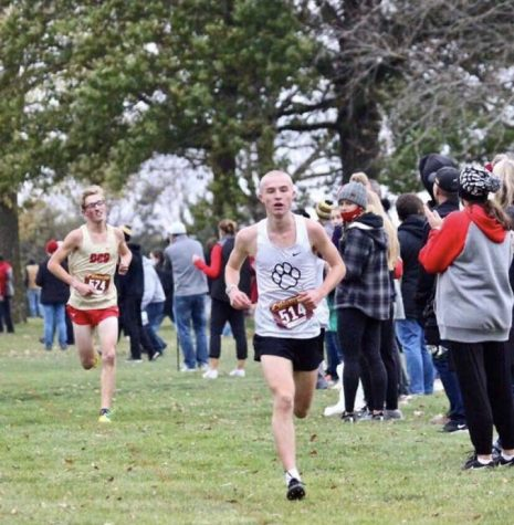 November XC Athlete of the Month: Nate Mueller