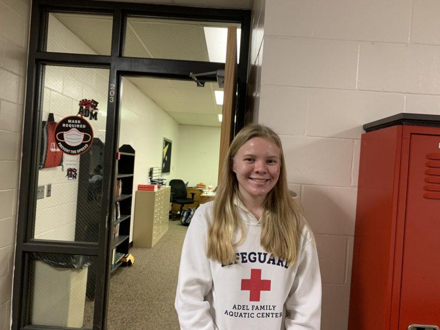 Emily Ahrens, Senior.