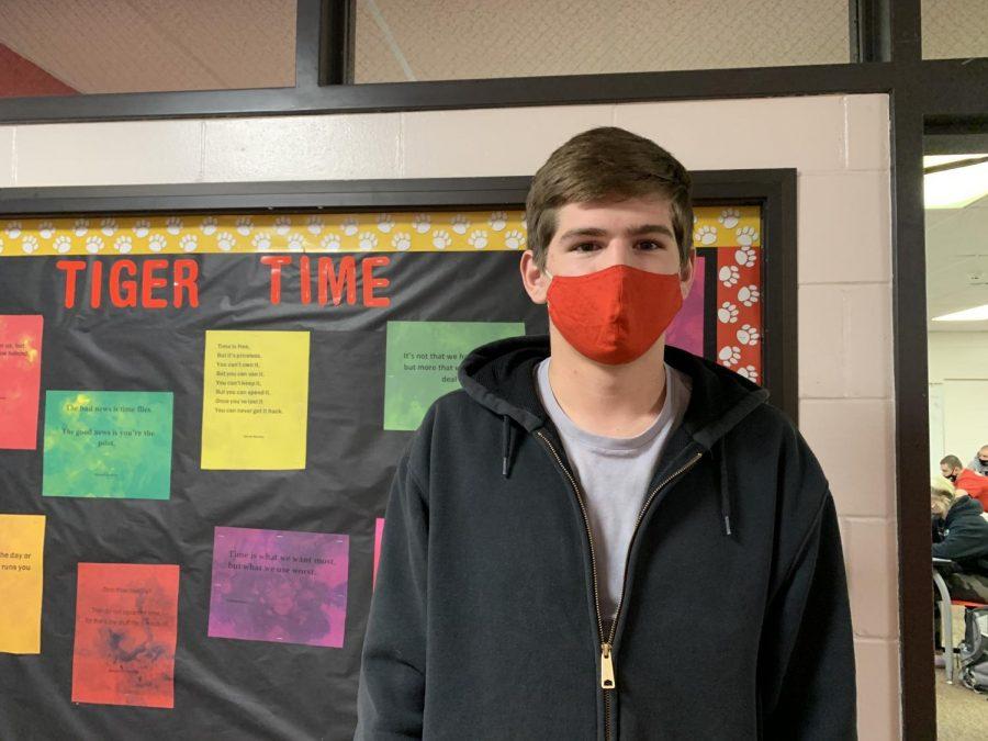 Tyson Shafer, Senior.
