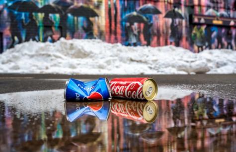 I tested Coke and Pepsi. Here