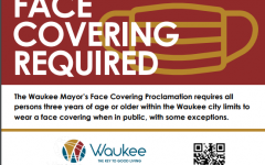 Starting November 9th, all businesses within the city limits of Waukee will be requiring masks due to a new proclamation by Waukee mayor Courtney Clark.