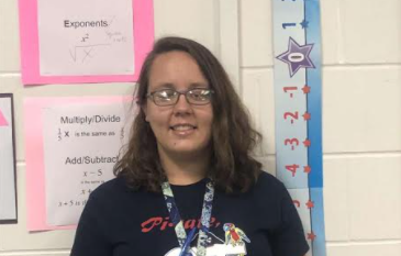 Ms. Lifka-Reselman, ADM Math teacher. Pictured by Callie Hazel.