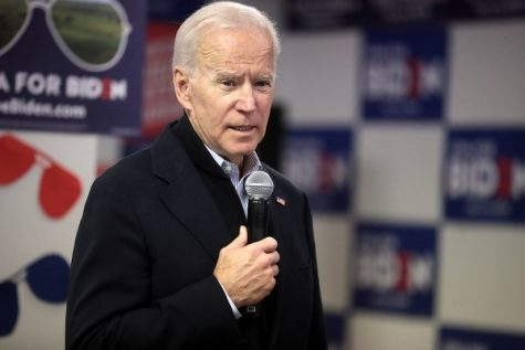 Joe Biden, New President Elect of the United States of America.
