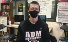Aaron Teckenberg, Fine Arts Student of the Month