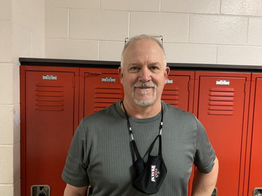 Mr. Goodale, Teacher of the month for February.