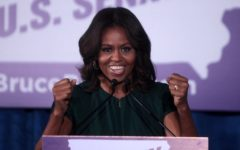 Michelle Obama: using her voice and representing passion.