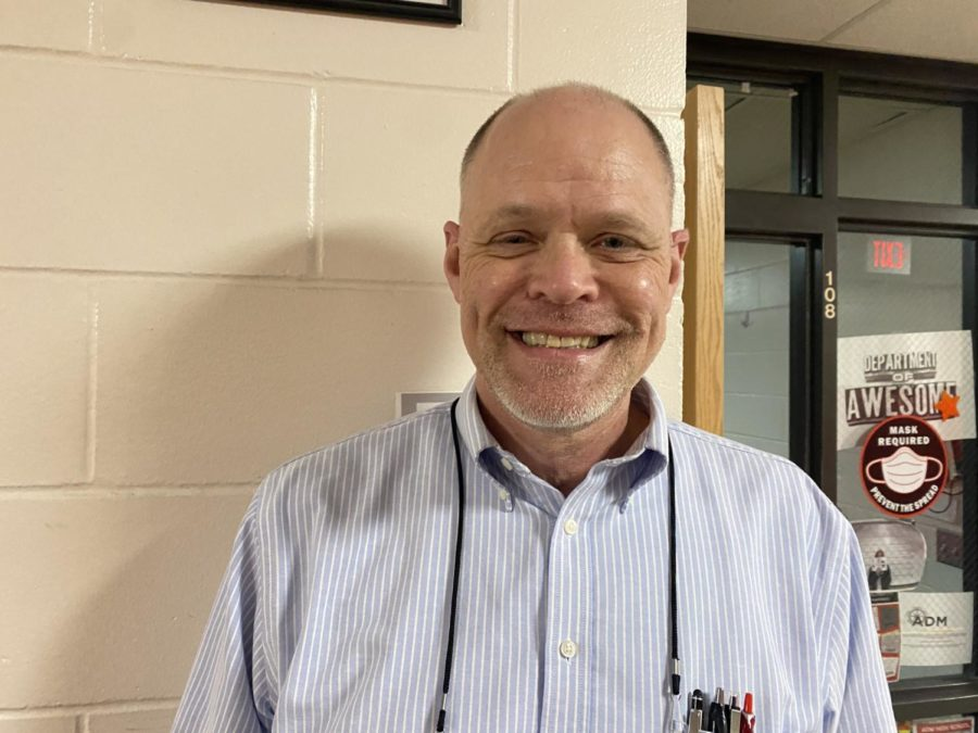 Mr. Schroeder has been nominated as one of the teachers of the month. He believes that it means that a connection has been made with the student, which means a lot to him.