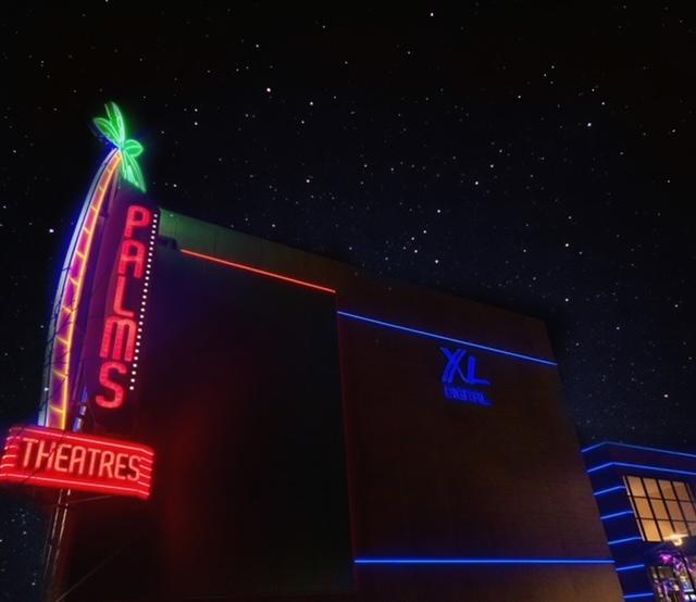 Photo Illustraiton of the Palms Theater in Waukee