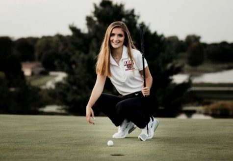 ADM Senior Golfer Liv Rickert at River Valley Golf Course.